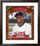 Torii Hunter Framed Photographic Print