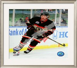 Brian Campbell 2008-09 NHL Winter Classic Framed Photographic Print