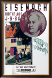 Eisenach, Birthplace of Bach Framed Giclee Print by Austin Cooper