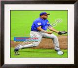 Carlos Zambrano - No Hitter / Overlay Framed Photographic Print