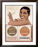 Les Meilleures Cigarettes Framed Giclee Print