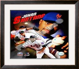 Johan Santana Framed Photographic Print