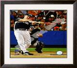 Justin Morneau 2008 MLB Home Run Derby Framed Photographic Print