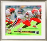 Dwight Freeney Syracuse University Orangemen 2001 Framed Photographic Print