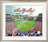 Shea Stadium Final Game 2008 Framed Photographic Print