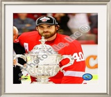 H. Zetterberg - &#39;09 West. Conf. Champ Trophy Framed Photographic Print