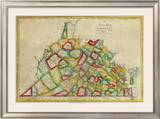 State of Virginia, c.1827 Framed Giclee Print by Robert Desilver
