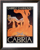 Roman Virgin Gabriele Theater Framed Giclee Print