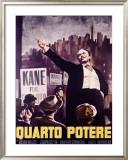 Citizen Kane (Italian Release) Framed Giclee Print