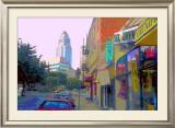 US Gift, Venice Beach, California Framed Giclee Print by Steve Ash