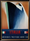 Italia Framed Giclee Print by Giovanni Patrone
