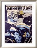 Femme Sur la Lune Framed Giclee Print by H. Cerutti