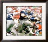 "Ed ""Too tall"" Jones action Framed Photographic Print"