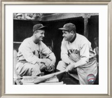 Lou Gehrig & Babe Ruth Framed Photographic Print