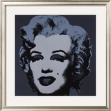 Marilyn, c.1967 (Black) Posters by Andy Warhol