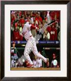 Pedro Feliz Game 5 of the 2008 World Series Framed Photographic Print