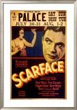 Howard Hughes presents Scarface Framed Giclee Print