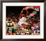 Shaquille O'Neal Louisiana State University Tigers Framed Photographic Print