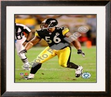 LaMarr Woodley 2009 Framed Photographic Print