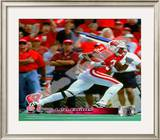 Lee Evans University of Wisconsin Badgers 2001 Framed Photographic Print
