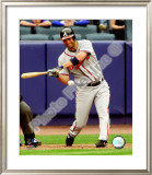 Jeff Francoeur 2008 Batting Action Framed Photographic Print