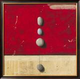 Paisibles dans Un Rouge Eloquent Prints by Marylin Cavin