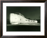 Bullet Train Engine Framed Giclee Print