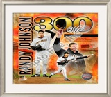 Randy Johnson - 300th Win Framed Photographic Print