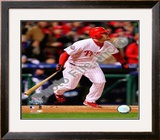 Geoff Jenkins Game 5 of the 2008 World Series Framed Photographic Print