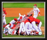 2008 Philadelphia Phillies World Series Champions Framed Photographic Print