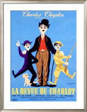 La Revue de Charlot Framed Giclee Print by Leo Kouper