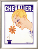 Maurice Chevalier Framed Giclee Print by Charles Gesmar