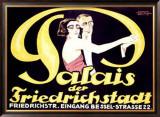 Palais der Friederichstadt Framed Giclee Print by  Bunzel