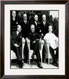 "The new ""Big Three"" at the Potsdam Conference, 1945 Framed Photographic Print"