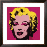 Marilyn, c.1967 (Hot Pink) Posters by Andy Warhol
