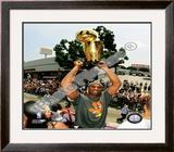 Kobe Bryant 2009 NBA Championship Victory Parade Framed Photographic Print