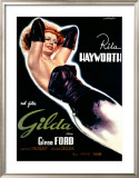 Gilda Framed Giclee Print