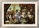 Last Supper Poster by Cornell Barnes