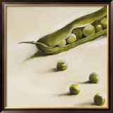 Petits Pois, c.2006 Framed Giclee Print by Nathalie Clement