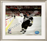 Sidney Crosby 1st Star of the Game, Game 3 of the 2008 NHL Stanley Cup Finals; 9 Framed Photographic Print