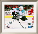 Dany Heatley 2009-10 Framed Photographic Print