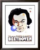 Beethoven Framed Giclee Print