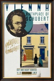 Vienna, Birthplace of Schubert Framed Giclee Print by Austin Cooper