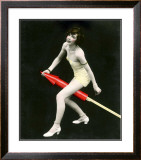 Fourth of July Rocket Girl, c.1925 Framed Giclee Print