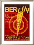 Ruttmann Berlin Symphony of a Great City Framed Giclee Print