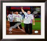 Gary Carter Final Game at Shea Stadium 2008 Framed Photographic Print