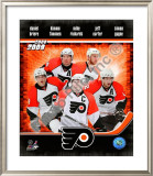2008-09 Philadelphia Flyers Framed Photographic Print