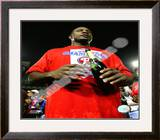 Ryan Howard 2008 Game 5 NLCS Celebration Framed Photographic Print