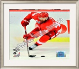 H. Zetterberg - 09' St. Cup / Gm. 1 Framed Photographic Print
