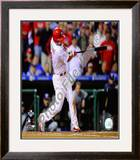 Shane Victorino Grand Slam Game 2 of the 2008 NLDS Framed Photographic Print